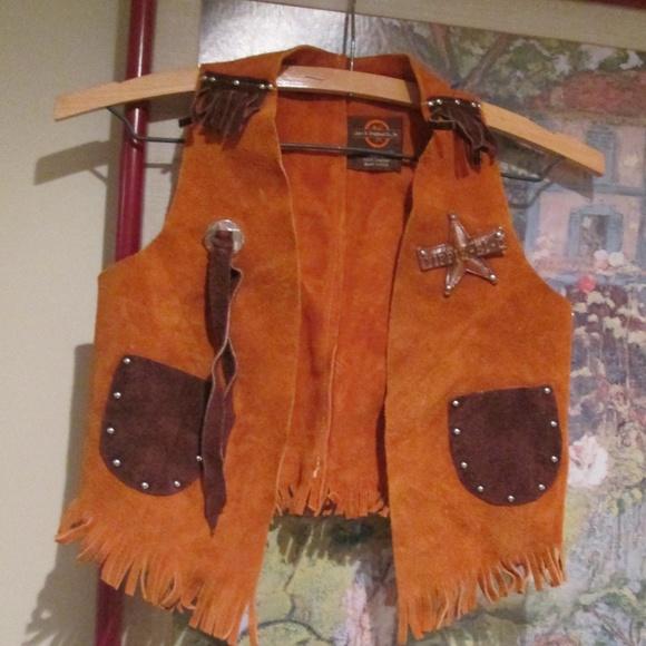 John R. Craighead Other - John R Craighead Vintage Cowboy Western Suede Vest